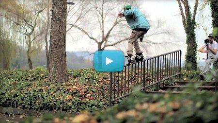 5 hours, 5 spots, 5 tricks, 5 years ago with Josiah Blee (2012) by Anthony Rowe