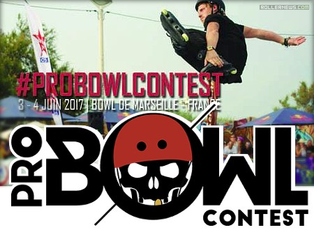Marseille Pro Bowl Contest 2017 (France) - Flyer and Promo