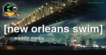 New Orleans Swim (2017) by Andrew Waddle