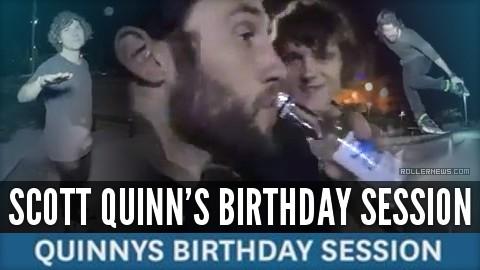 Scott Quinn's Birthday (2017) - Session with Richie Eisler, Joe Atkinson, Dominik Wagner & Josh Glowicki in Athens (Greece)