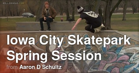 Iowa City Skatepark Spring Session (2017) by Aaron Schultz