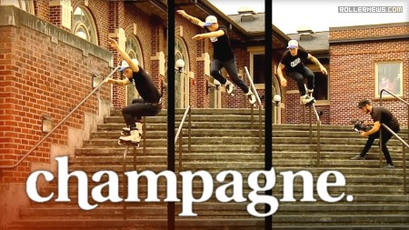 Dead Wheels presents Champagne (Summer 2017), a video by David Sizemore and Adam Johnson - Teaser