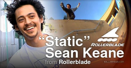 Sean Keane (28) - Static Section (2017) by Casey Bagozzi - Rollerblade Interview