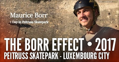 Maurice Borr (Germany) - One day at the Peitruss Skatepark (Luxembourg City, 2017)