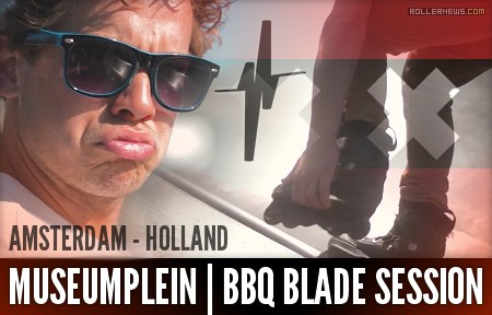 Museumplein (Amsterdam, Holland) - BBQ Blade Session (2017)