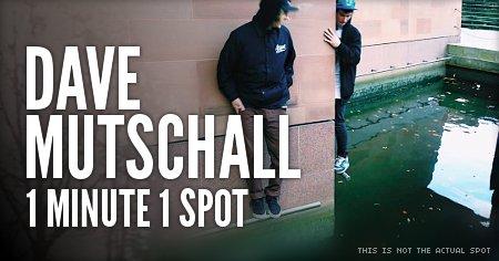 Dave Mutschall - 1 minute 1 spot in Berlin (Germany)