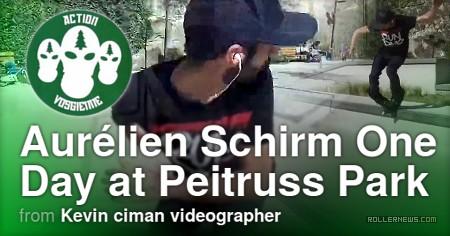 Aurelien Schirm - one day at Peitruss park (Luxembourg City, 2017)
