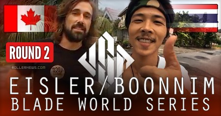 BLADE world series - Richie Eisler vs. Worapoj Note Boonnim | Round 2