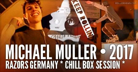 Michael Muller (Razors Germany) - Chill Box Session @ Wangen Skatefactory (2017)