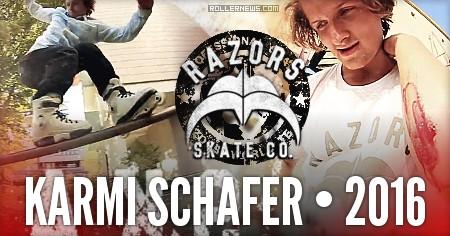 Karmi Schafer (Germany) - Razors Profile by Phil Aznar (2016)