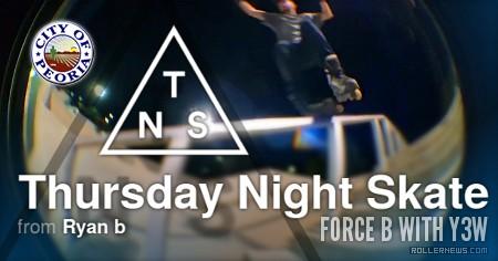 Thursday Night Skate in Peoria, Arizona (2017) by Ryan Buchanan