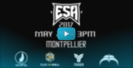 ESA 2017 (Montpellier, France) - La Roulette Video & Report + Results