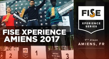 Julien Cudot - 1st place at the Fise Xperience Amiens 2017 (Park Pro)