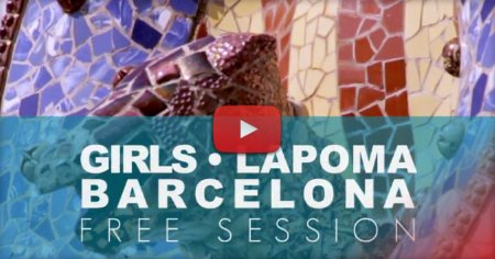 Bladies in Barcelona - La Poma Skatepark - Edit by Ton Neves (2017)