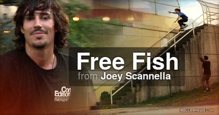 Billy O'Neill - Free Fish, by Joey Scannella