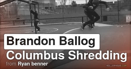 Brandon Ballog (33) - Columbus Shredding (2017) by Ryan Benner