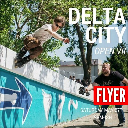 Picture of the day - Delta City Open 2017 Flyer with Don Bambrick