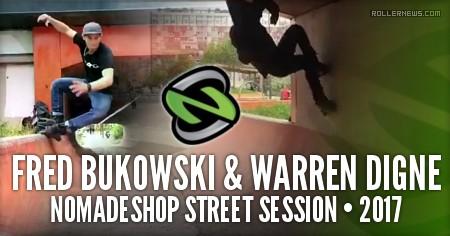 Fred Bukowski & Warren Digne - Short Street Session (2017)