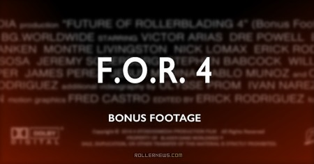 F.O.R. 4 by Erick Rodriguez - Bonus edit