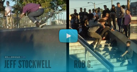 Long Beach - Ghetto Park, Mini Ramp Contest + Rail Battle (2017), organized by Tim Franken, Winners: Jeff Stockwell & Russell Day