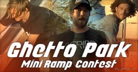 Long Beach - Ghetto Park, Mini Ramp Contest + Rail Battle (2017), organized by Tim Franken, Winners: Jeff Stockwell & Russell Day