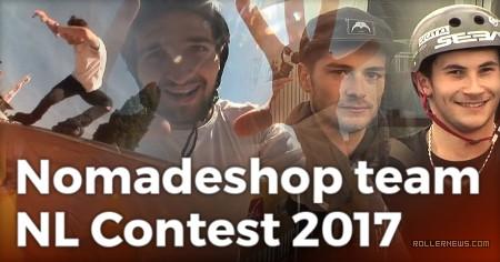 Nomadeshop Team at the NL Contest 2017 (Strasbourg, FR) - Edit by Cavin Brinkman