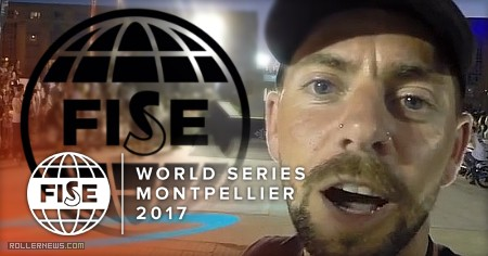 Fise World Montpellier 2017 - Day One through the eyes of Anthony Finocchiaro