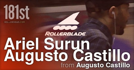 181st (NYC) Park Session with Ariel Surun and Augusto Castillo