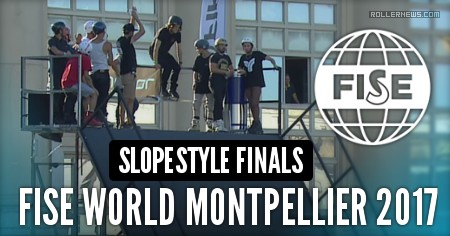 Julien Cudot wins the Fise World Montpellier 2017 - Slopestyle Finals