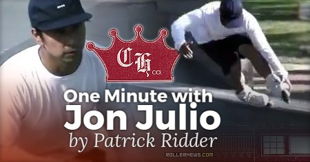 One minute with Jon Julio at Paramount Skatepark (Los Angeles, 2017) by Patrick Ridder