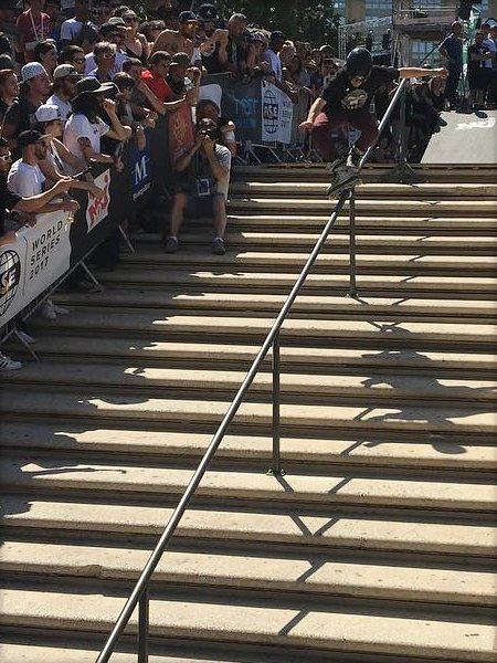 Roman Abrate wins the Fise World Montpellier 2017 - Rail Contest