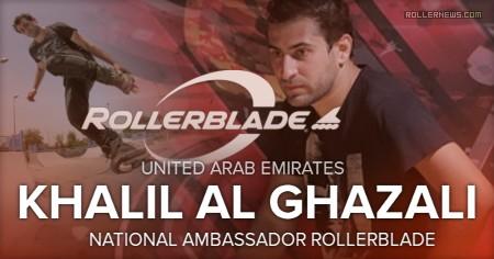 Khalil Al Ghazali (United Arab Emirates) - Rollerblade Ambassador (2017)