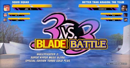 Wallyfighter III - 3vs3 B.L.A.D.E. Battle - Edit by Tri Tri-rudolf