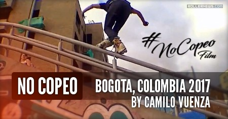 No Copeo (2017) by Camilo Giraldo 'Vuenza'  featuring the Z-Crew (Bogota, Colombia)