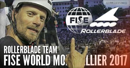 Rollerblade @ Fise World Montpellier 2017