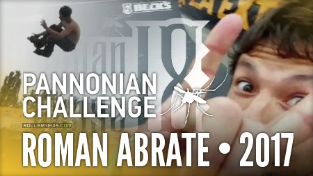 Roman Abrate - Practicing at the Pannonian Challenge 2017 (Croatia)