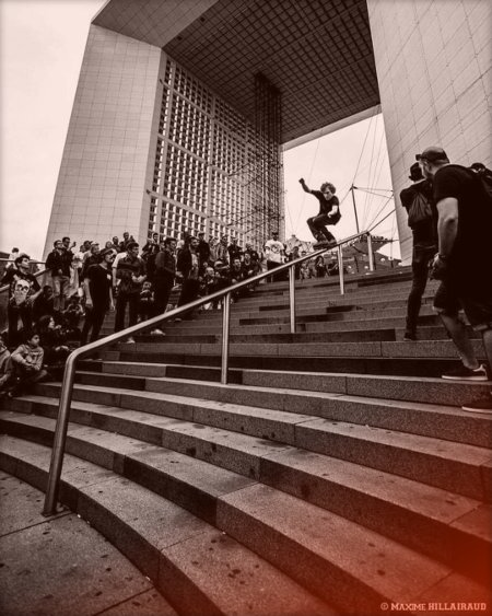 Picture of the Day - Sam Crofts, 1st place at the Shred Da Ground (2017) in Paris