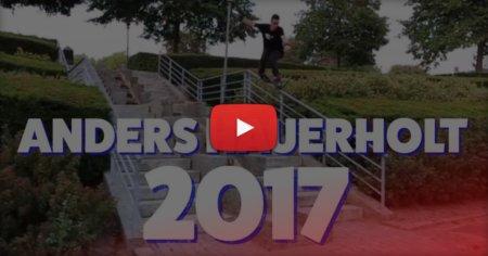 Anders Hauerholt (Denmark) - Skatepro Street Edit (2017)