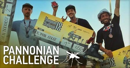 Roman Abrate wins the Panonian Challenge 2017 in Croatia