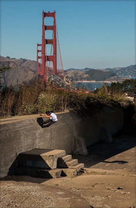 Picture of the day: Sean Keane - AO Wallride 360 out