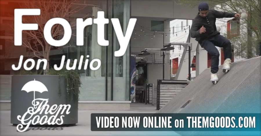 Jon Julio - Forty, online on Themgoods.com