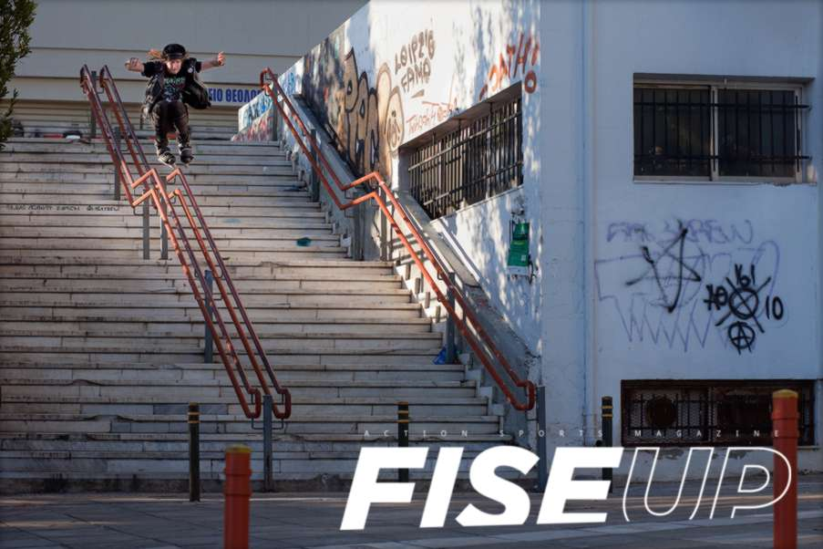 FISE UP - Issue 10 Online (in english + version francaise) featuring an article on Delfon Dio and a portrait of Mathieu Heinemann