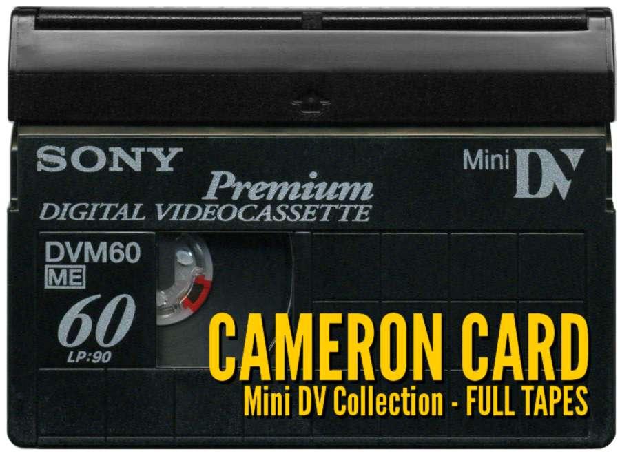 Cameron Card - Mini DV Collection