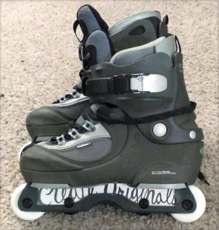 Skate Setup of the day - Salomon Sti, by Brett Dasovic