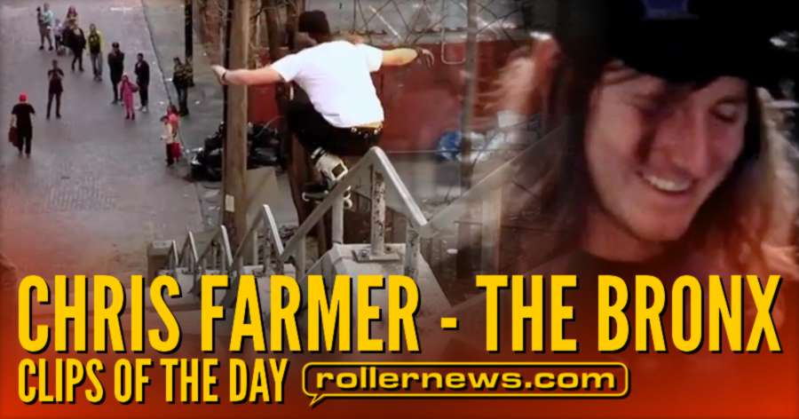 Chris Farmer - Kink Rail of the day. Champagne Clips by David Sizemore & Adam Johnson