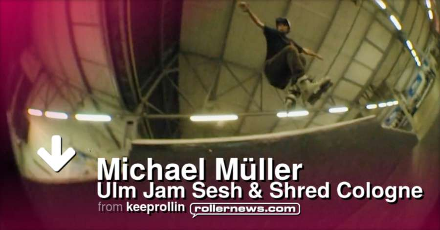 Michael Muller (Germany) - Ulm Jam Session + Shred Cologne (2016)
