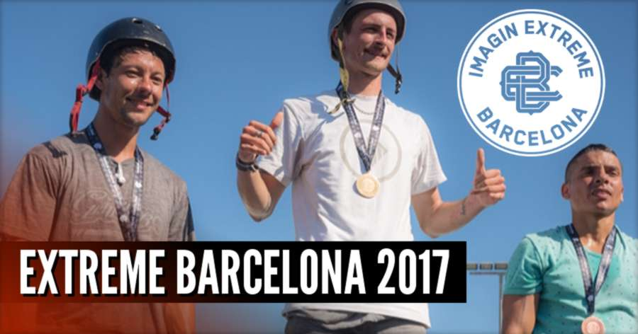 Roman Abrate - Extreme Barcelona 2017, Video of the Run (2nd place) & Full Results