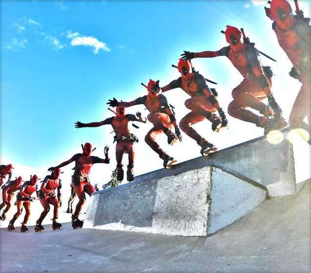 Picture of the day: Project Shredpool - The Human Shredipede