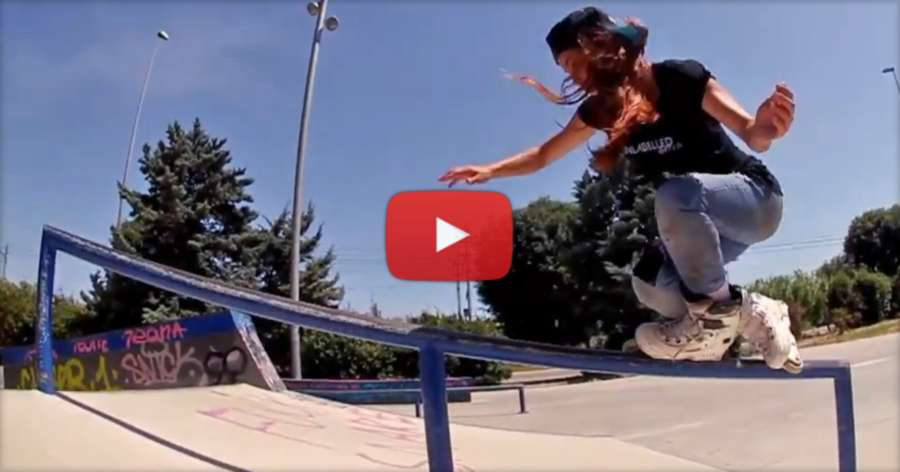 Tais Colares (Brazil) - Free Session in BCN (2017) by Ton Neves