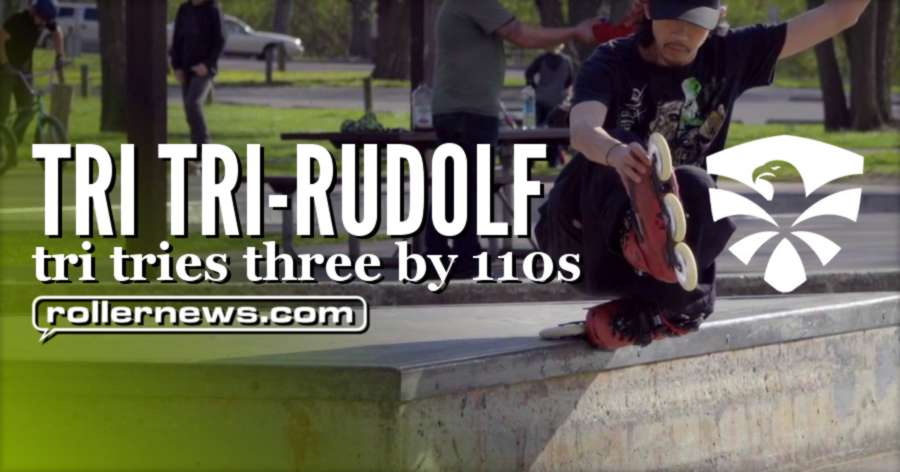 Tri Tri-Rudolf | Tri Tries Three by 110s